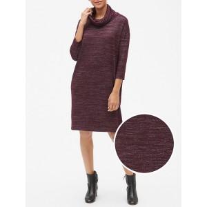 Softspun Long Sleeve Cowl-Neck Dress