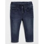 Stretch slim fit knit jeans