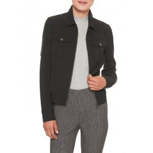 Crop Zip Jacket