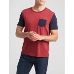 Colorblock Crewneck T-Shirt