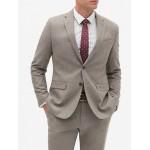 Slim-Fit Tweed Blazer