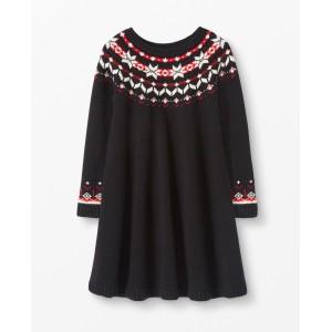 Snoe Happy Fair Isle Sweater Dress