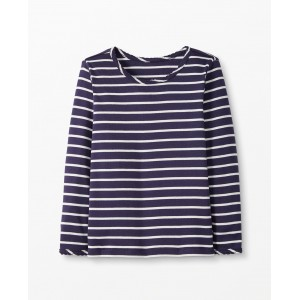 Bright Basics Stripe Pima Tee