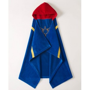 Marvels Captain Marvel Hooded Towel