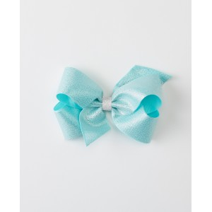 Shimmery Bow Clip