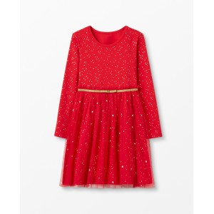 Shimmer Star Dress In Soft Tulle