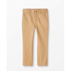 Chinos In Peached Twill