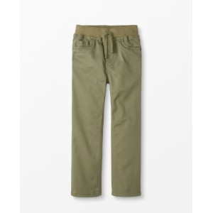 Kickstart Relaxed Pants In Stretch Twill