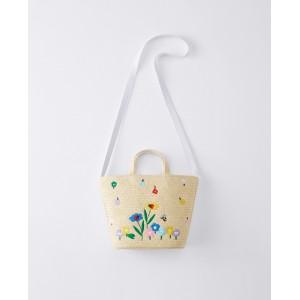 Celebrate Spring Straw Bag