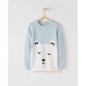 Arctic Critter Marshmallow Sweater