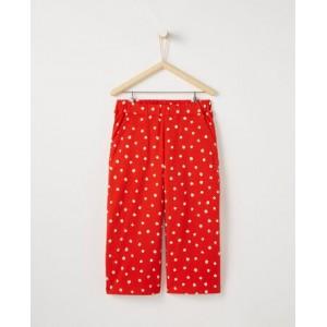 Flowery Knit Culottes