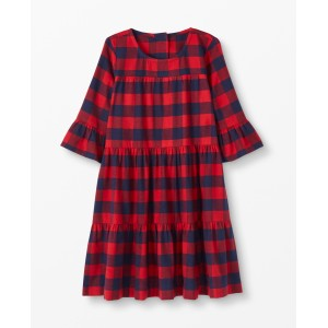 Buffalo Plaid Flannel Dress