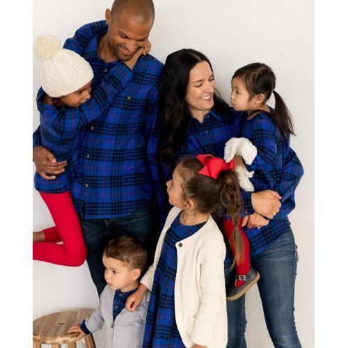 한나앤더슨 Festive Flannel Dress
