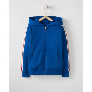 Jersey Lined Hoodie In French Terry