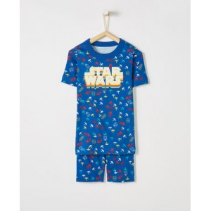 Star Wars Short John Pajamas In Organic Cotton