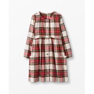 Festive Flannel Dress