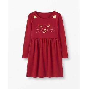 Festive Feline Dress