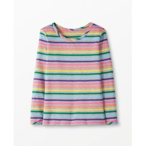 Bright Basics Stripe Pima Tee