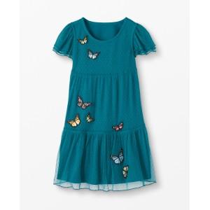 Flutterby Dress In Soft Tulle