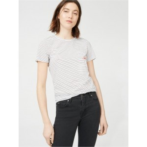 Leary Embroidered Tee