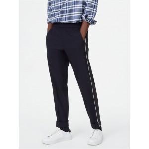 Piped Elastic Pant