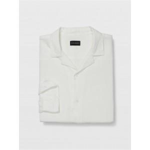 Camp Collar Linen Shirt