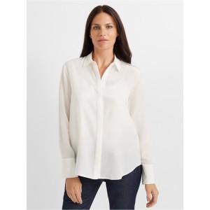 Tonal Edge Silk Shirt