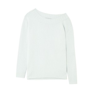 Sky blue Wool and cashmere-blend sweater