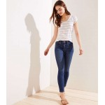 Modern Slim Pocket Skinny Jeans in Mid Indigo Wash