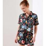 Pansy Garden Pajama Top