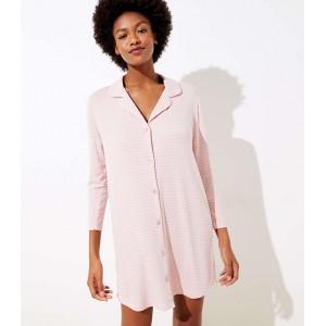 Striped Pajama Dress