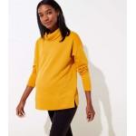 Maternity Funnel Neck Sweatshirt