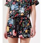 Pansy Garden Pajama Shorts