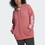 Essentials Logo Full-Zip Hoodie (Plus Size)