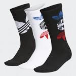 Space Tech 3D Crew Socks 3 Pairs