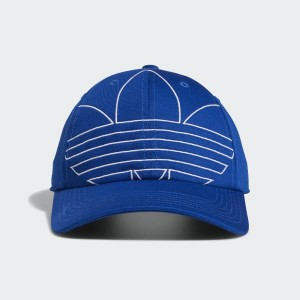 Relaxed Outline Strap-Back Hat