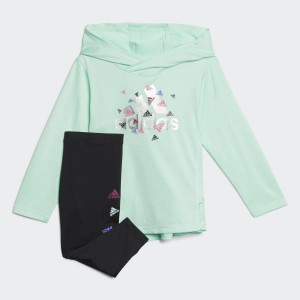 Badge of Sport Hooded Top and Tights Set