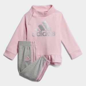 French Terry Sweatshirt and Joggers Set