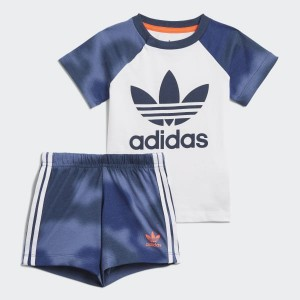 Camo Print Shorts and Tee Set