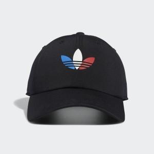 Tri-Color Strap-Back Hat