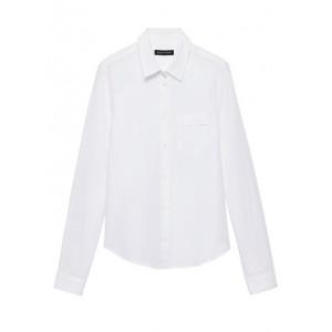Quinn Boy-Fit Linen-Cotton Shirt