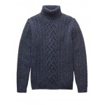 BR x Kevin Love &#124 Cable-Knit Turtleneck Sweater