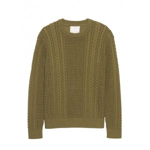 Heritage SUPIMA® Cotton Cable-Knit Sweater