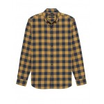 NEW Slim-Fit Luxe Flannel Buffalo Check Shirt