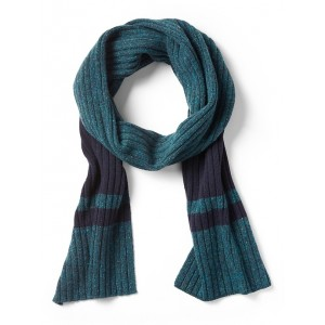 Ribbed Stripe Scarf