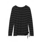 Soft Stretch Ruche-Side T-Shirt