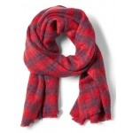 Buffalo Check Plaid Rectangular Scarf