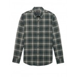 NEW Slim-Fit Luxe Flannel Plaid Shirt