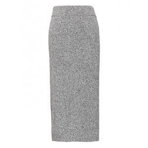 JAPAN ONLINE EXCLUSIVE Ribbed Sweater Skirt