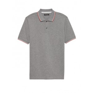 Slim Luxury-Touch Tipped Polo